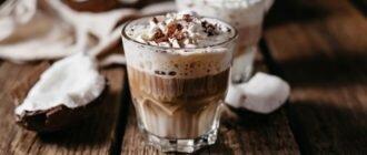 Сливки в кофе